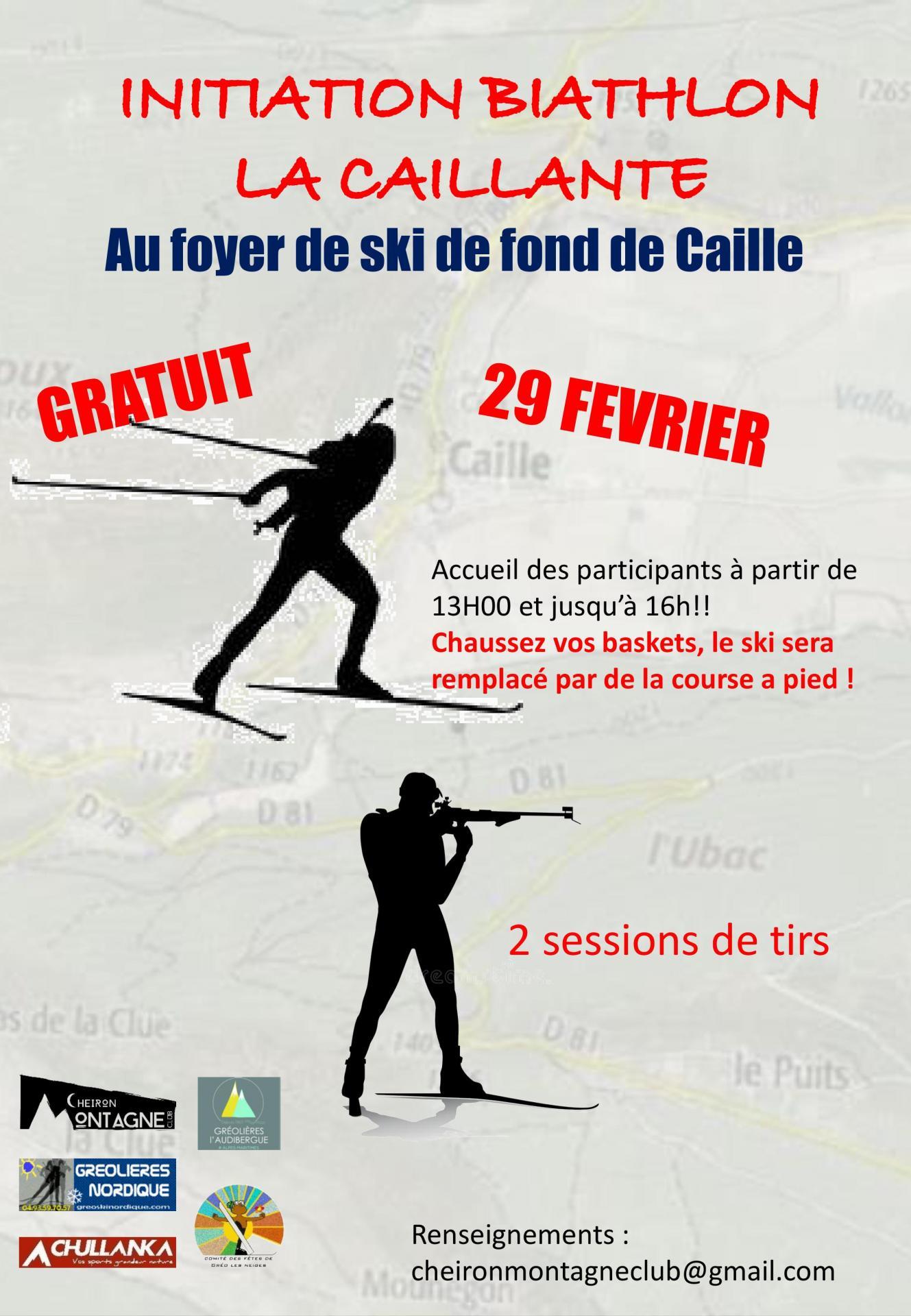 Affiche Biathlon 2020