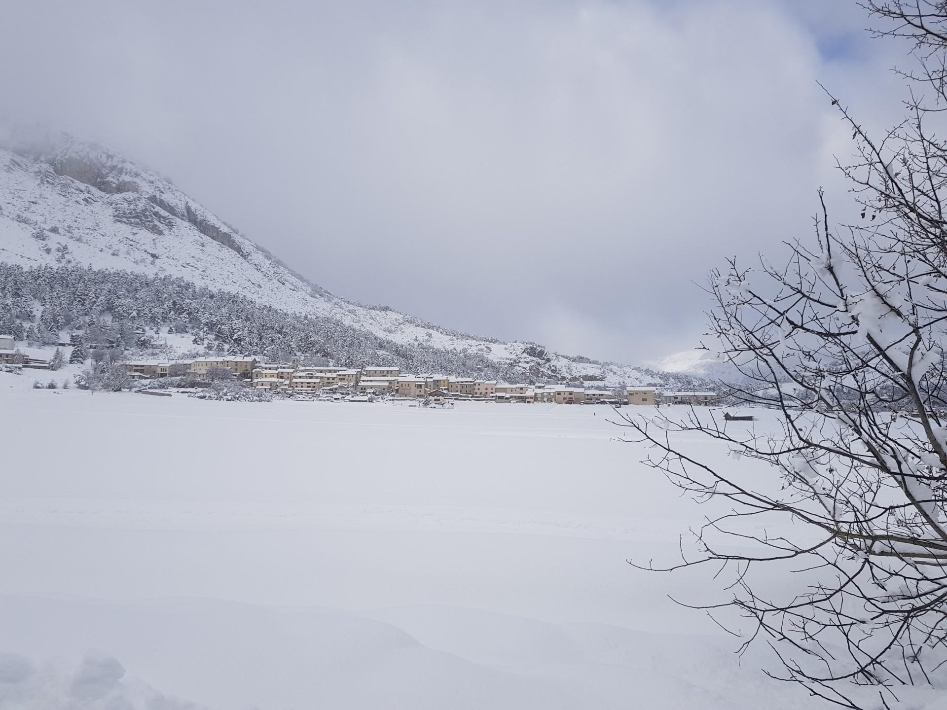 Un beau dimanche sous la neige