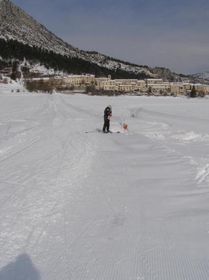 Course ski / orientation
