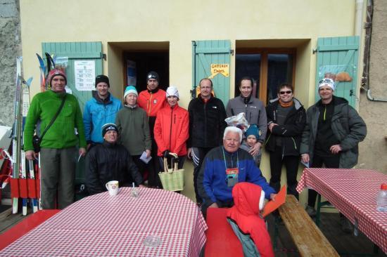 Les participants au relais des Ours Bruns