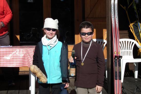 Les plus jeunes participants, 9 et 10 ans