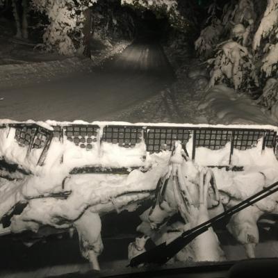 Damage des pistes samedi 9 janvier